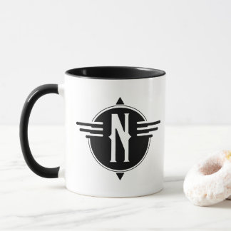 North Map Symbol Mug