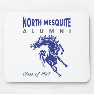 North Mesquite HS Alumni Class of 1987 Mouse Pad