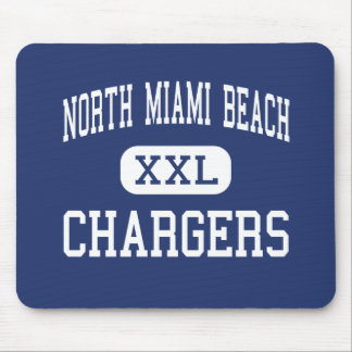 North Miami Beach - Chargers - North Miami Beach Mouse Mats