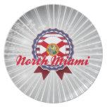 North Miami, FL Plate