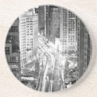 North Michigan Avenue in Chicago after winter Coaster