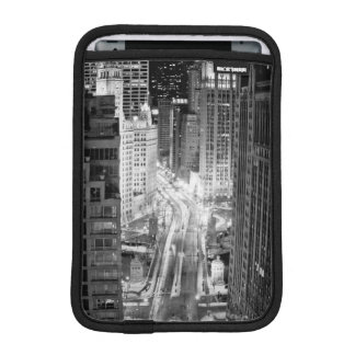 North Michigan Avenue in Chicago after winter iPad Mini Sleeve