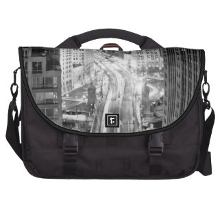 North Michigan Avenue in Chicago after winter Bag For Laptop