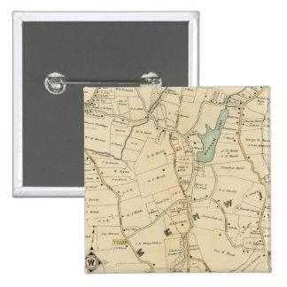 North New York City 2 Pinback Button