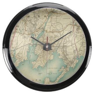 North New York City 7 Aquavista Clock