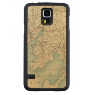 North New York City 7 Carved® Maple Galaxy S5 Slim Case