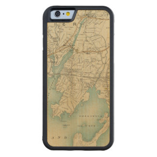 North New York City 7 Carved Maple iPhone 6 Bumper Case