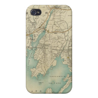 North New York City 7 Cover For iPhone 4