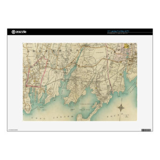 North New York City 7 Decal For Laptop