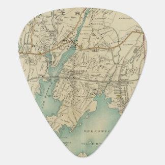 North New York City 7 Guitar Pick