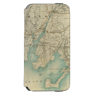 North New York City 7 iPhone 6/6s Wallet Case