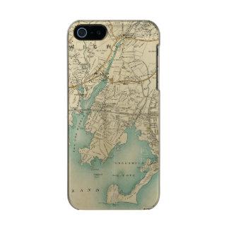 North New York City 7 Metallic iPhone SE/5/5s Case