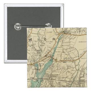 North New York City 7 Pinback Button