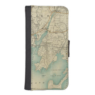 North New York City 7 iPhone 5 Wallet