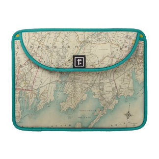 North New York City 7 Sleeve For MacBook Pro