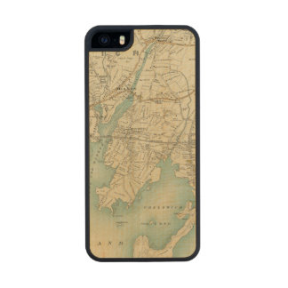 North New York City 7 Carved® Maple iPhone 5 Slim Case