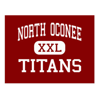 North Oconee - Titans - High - Bogart Georgia Postcard