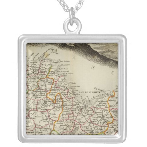 North Odds Square Pendant Necklace