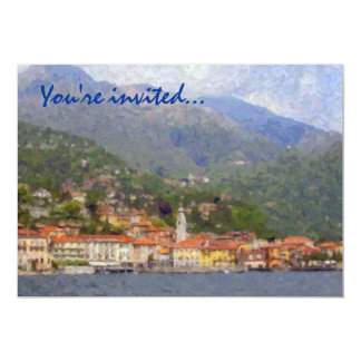 North of Italy Party Invitations