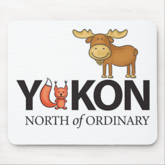 North of Ordinary Foxy Moose Designs Mouse Pad