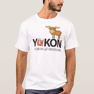 North of Ordinary Foxy Moose Designs T-Shirt
