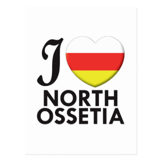 North Ossetia Love Postcard