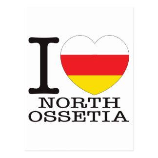 North Ossetia Love v2 Postcard