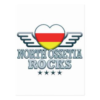 North Ossetia Rocks v2 Postcard