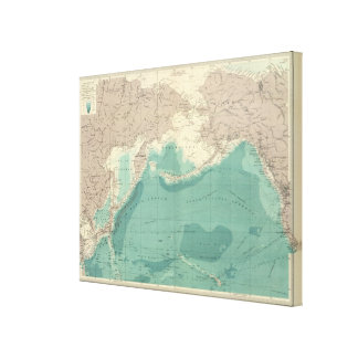 North Pacific Ocean Gallery Wrapped Canvas