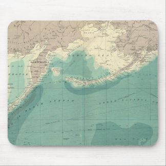 North Pacific Ocean Mouse Pad
