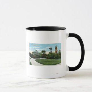 North Park View of Brownell School, Fire Mug
