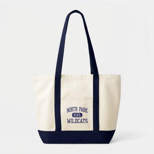 North Park - Wildcats - High - Walden Colorado Tote Bags