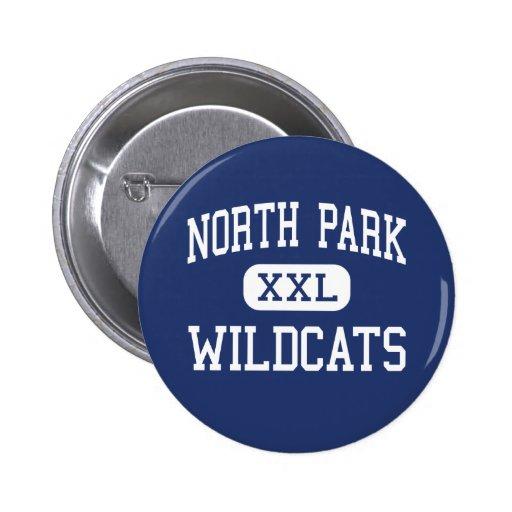 North Park - Wildcats - High - Walden Colorado 2 Inch Round Button