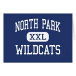 North Park - Wildcats - High - Walden Colorado Greeting Cards