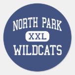 North Park - Wildcats - High - Walden Colorado Sticker