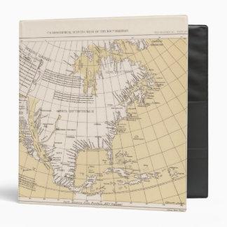 North part of America, 1625 3 Ring Binder