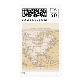 North part of America, 1625 Postage