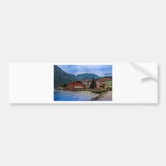 North part of Lago Di Garda, Torbole, Italy Bumper Sticker