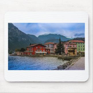 North part of Lago Di Garda, Torbole, Italy Mouse Pad