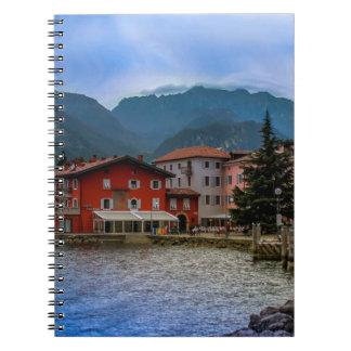 North part of Lago Di Garda, Torbole, Italy Spiral Notebook