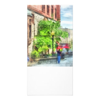 North Pearl Street, Albany, NY Personalized Photo Card