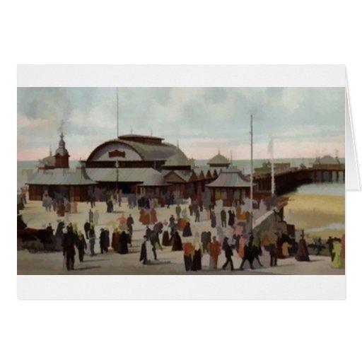 NORTH PIER BLACKPOOL 1906 CARD
