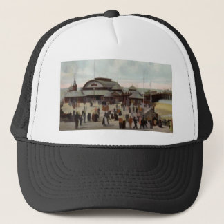 NORTH PIER BLACKPOOL C1906 TRUCKER HAT