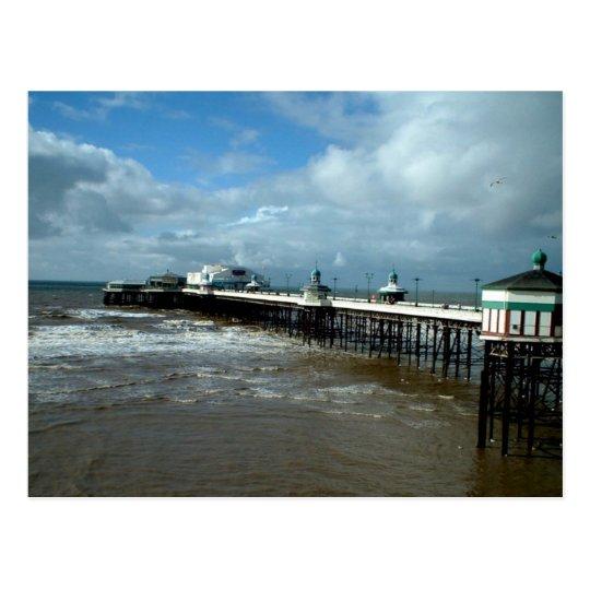 North Pier, Blackpool Postcard