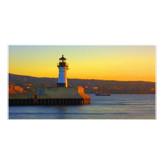 North Pier Lighthouse Picture Card