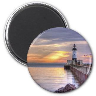 North Pier Morning Magnet