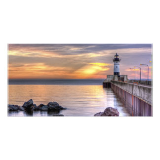 North Pier Morning Photo Cards