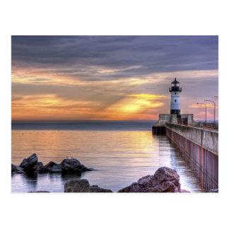 North Pier Morning Postcard
