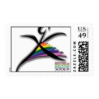 North Pinellas Pride Postage Stamp
