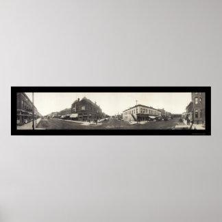North Platte, NE Photo 1909 Print